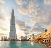 Khalifa van Burj royalty-vrije stock fotografie