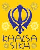 Khalsa greeting Royalty Free Stock Photo