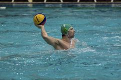 Khalturin Pavel. Sintez(Kazan) team of waterpolo Stock Images