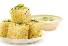 Khaman Dhokala Royalty Free Stock Photo