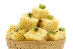 Khaman Dhokala Stock Photography