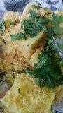 Khaman dhokla gujarati food Royalty Free Stock Photos