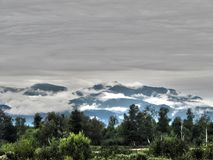 Khamar-Daban fotografia stock libera da diritti