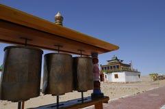khamar kloster 2 Arkivfoto