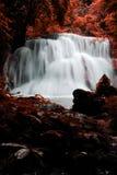 Khamin huay de mae de cascade dans la province de Kanchanaburi photographie stock libre de droits