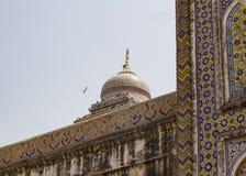 khan清真寺wazir 免版税图库摄影