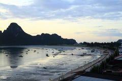 Khan επαρχία kriri Prachuap στην Ταϊλάνδη Στοκ Φωτογραφίες