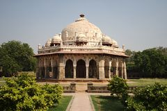 khan νέος τάφος του Δελχί isa Στοκ φωτογραφία με δικαίωμα ελεύθερης χρήσης