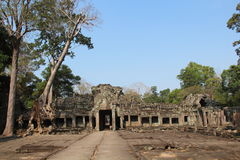 khan ναός preah Καμπότζη Το Siem συγκεντρώνει την επαρχία Το Siem συγκεντρώνει την πόλη Στοκ φωτογραφίες με δικαίωμα ελεύθερης χρήσης