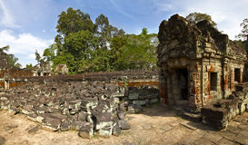 khan ναός preah Στοκ εικόνα με δικαίωμα ελεύθερης χρήσης