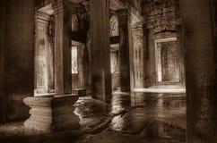 khan ναός preah Στοκ Φωτογραφίες