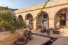 Khan al-Khalili Bazaar Foto de archivo libre de regalías