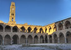 Khan al-Umdan. Is the largest and best preserved khan in Israel. Located in the Old City of Acre Stock Photography