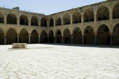 Khan Al-Umdan in Akko (Acre) Stock Image