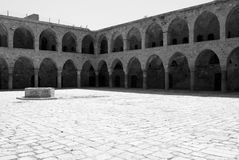 Khan Al-Umdan in Akko (Acre) Royalty Free Stock Images