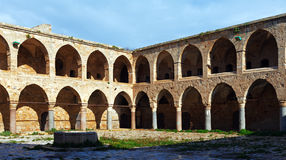 Khan al-Umdan Gallery, Acre Royalty Free Stock Photos