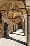 Khan al-Umdan - Acco. Khan al-Umdan (translation: Inn of the Columns) in the old town of Acco, is the largest and best preserved khan in Israel Royalty Free Stock Photos