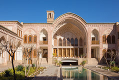 Khan-e Ameriha historic house in Kashan Royalty Free Stock Images