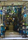 Khan el-Khalili glass shop Stock Photos