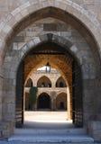 Khan Gr Franj, Sidon (Libanon) Royalty-vrije Stock Afbeelding