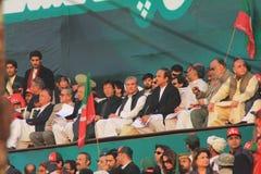 khan Imran wiec Karachi Pakistan fotografia royalty free