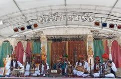 khan langa rahmat马戏团 库存照片