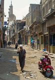 khan marknad för cairo el khalili Arkivbilder