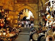 khan marknad för el-khalili Royaltyfri Fotografi