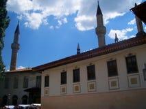 Khan Palace in Bakhchisaray, Crimea Stock Photo