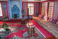 Khan Palace in der Stadt von Bakhchisaray lizenzfreie stockfotos