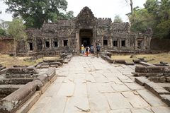 Khan Preah Royalty-vrije Stock Afbeeldingen