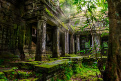 Khan Preah royalty-vrije stock fotografie