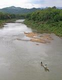 Khan rzeka prawie Luang Prabang obraz royalty free