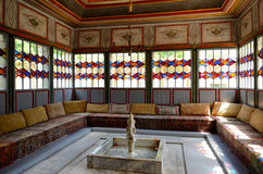 Khan's Palace interiors in Bakhchisaray Royalty Free Stock Image