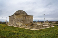 The Khan's tomb in Bolgar. The ancient Khan's tomb in Bolgar royalty free stock photo