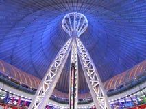 The KHAN SHATYR cuplola in Astana Royalty Free Stock Photography