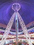 The KHAN SHATYR cuplola in Astana Stock Image