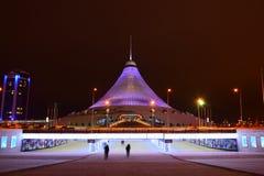 The KHAN SHATYR entertainment center in Astana Royalty Free Stock Photos