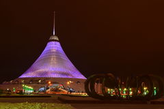 The KHAN SHATYR entertainment center in Astana Royalty Free Stock Photography