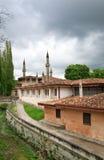 khan slott s för 16th bakhchisaray århundrade Royaltyfri Fotografi