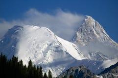 Khan Tengri Imagen de archivo libre de regalías