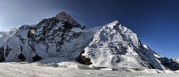 Free Khan-Tengri Peak. Stock Image - 124621081