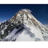 Khan Tengri summit Royalty Free Stock Photo