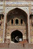 khan wazir masjid lahore Стоковое Изображение