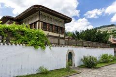 Khan& x27; s宫殿在Bakhchisarai 那个安置到乌克兰的美丽的克里米亚 免版税库存照片