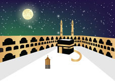 Khana e Kaba The Center of Faith Stock Images