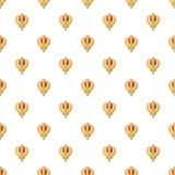 Khanda symbol sikhism religion pattern seamless. Khanda symbol sikhism religion pattern in cartoon style. Seamless pattern vector illustration Royalty Free Stock Photography