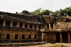 Khandagiriholen Stock Foto's