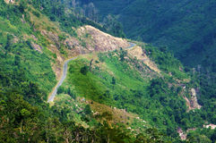 Khanh Vinh mountain pass Stock Images