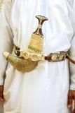 Khanjar omanense fotos de stock